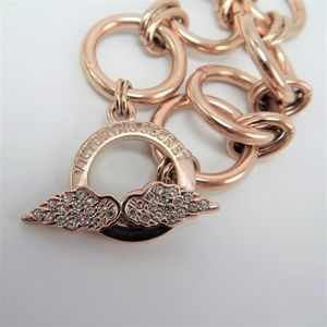 Victoria Secret Rose Gold Angel Wing Bracelet